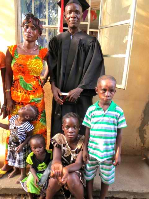 Fullah Family Finish Quarantine