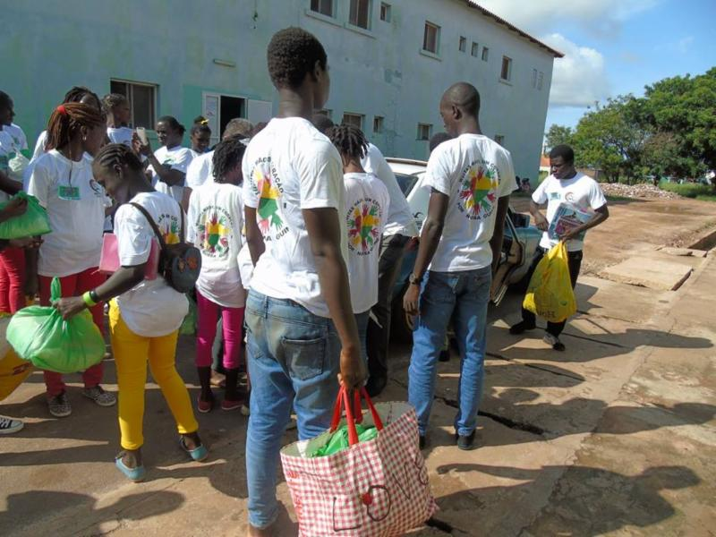 One Year in Guinea-Bissau and Youth Camp
